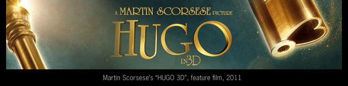 Martin Scorsese's HUGO in 3D